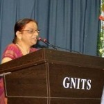 Prof. Laxmi Ji speaking