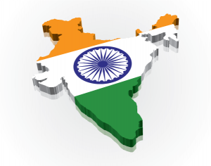 3D-India-Flag-Map-2