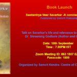 Swatantrya Veer Savarkar -Book Launch-invitation