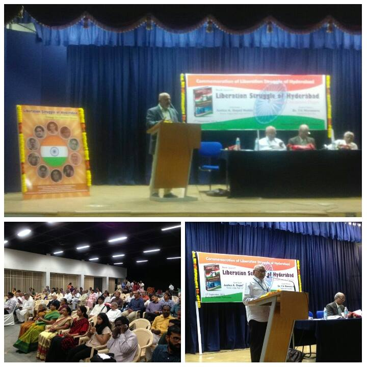 Liberation Struggle of Hyderabad -Book release
